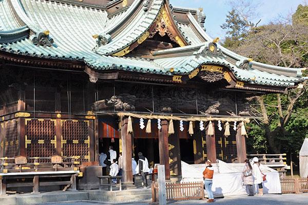 寺社の休憩室