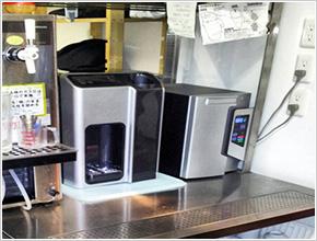 和食屋での浄水器導入画像