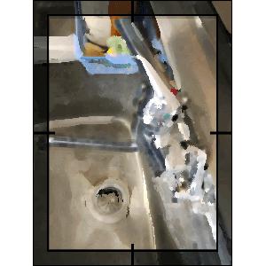 水栓斜め写真